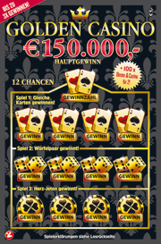golden casino rubbellos westlotto